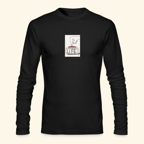 Mood - Men's Long Sleeve T-Shirt by Next Level
