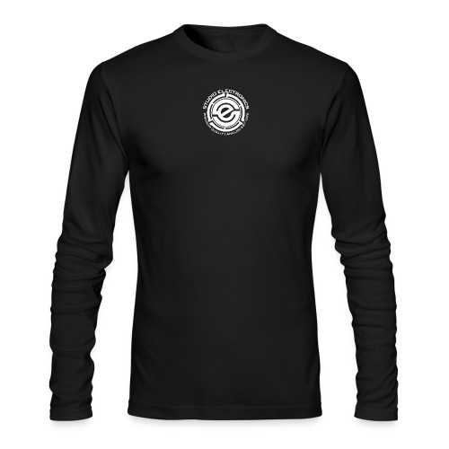 45 Insert SE Logo Greczilla White png - Men's Long Sleeve T-Shirt by Next Level