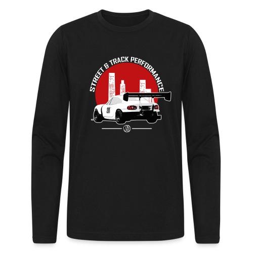 BEAVIS RACECARLOGO BLACK - Men's Long Sleeve T-Shirt by Next Level