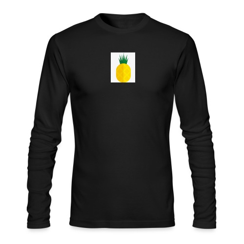 Pixel looking Pineapple - Men's Long Sleeve T-Shirt by Next Level
