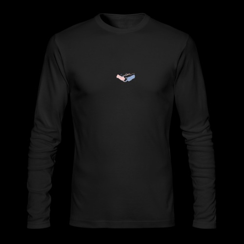 Black T-Shirt - Seventeen - Men's Long Sleeve T-Shirt by Next Level