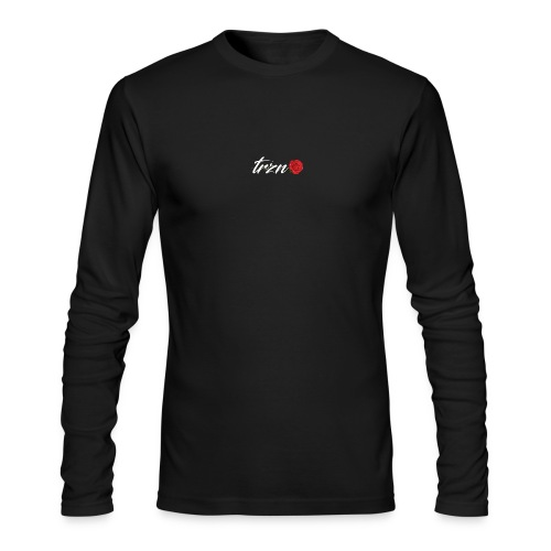 tshirt white vector - Men's Long Sleeve T-Shirt by Next Level