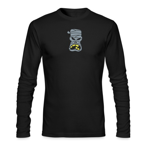 Angry Halloween Mummy - Men's Long Sleeve T-Shirt by Next Level
