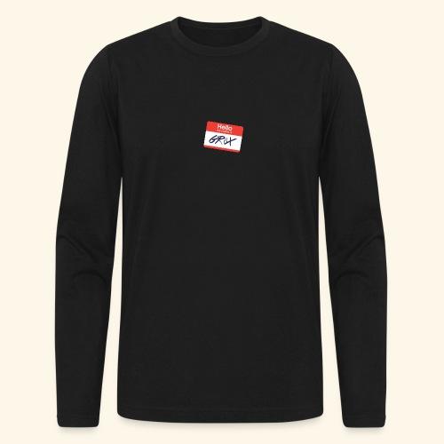 NameTag - Men's Long Sleeve T-Shirt by Next Level
