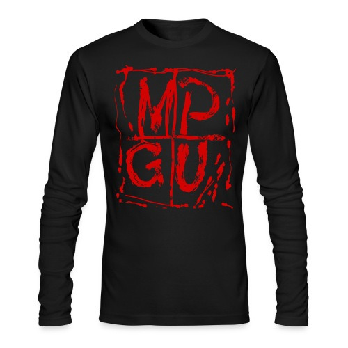 MPGU RED STROKE - Men's Long Sleeve T-Shirt by Next Level