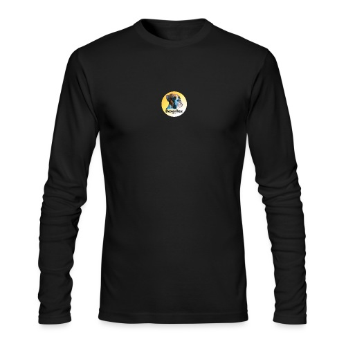 Boxer Rex logo - Men's Long Sleeve T-Shirt by Next Level