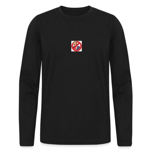 blog stop trump - Men's Long Sleeve T-Shirt by Next Level