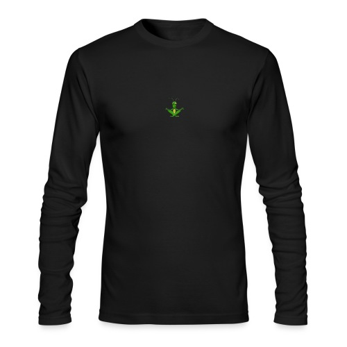 images 9 burned - Men's Long Sleeve T-Shirt by Next Level
