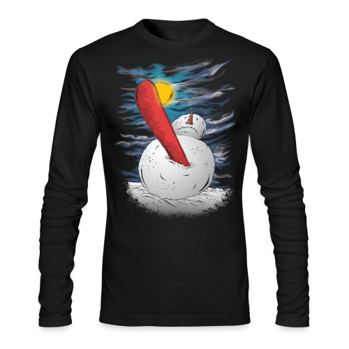 the accident - Men's Long Sleeve T-Shirt by Next Level