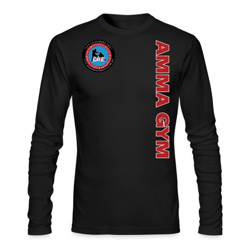 amma gym 10 png - Men's Long Sleeve T-Shirt by Next Level