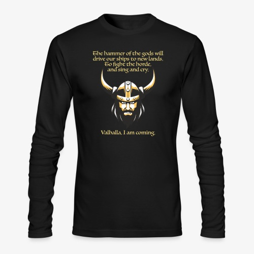 Hammer of the Gods - Men's Long Sleeve T-Shirt by Next Level