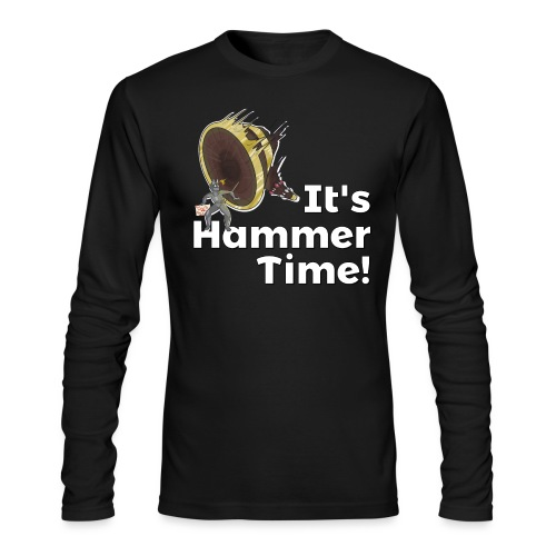 It's Hammer Time - Ban Hammer Variant - Men's Long Sleeve T-Shirt by Next Level
