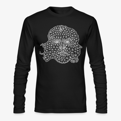 White Che - Men's Long Sleeve T-Shirt by Next Level