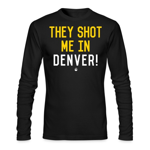 theyshot - Men's Long Sleeve T-Shirt by Next Level