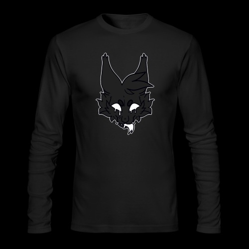 kitty candle-wax - Men's Long Sleeve T-Shirt by Next Level