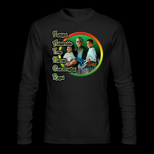Father 01 - Men's Long Sleeve T-Shirt by Next Level