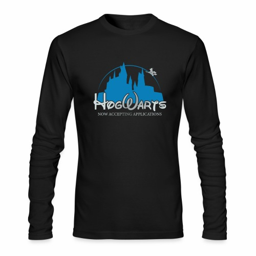 Castle Mashup - Men's Long Sleeve T-Shirt by Next Level
