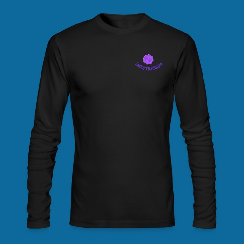 SR logo curved - Men's Long Sleeve T-Shirt by Next Level