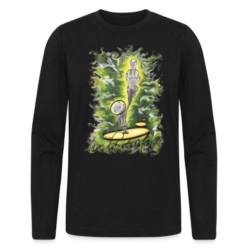 vive la résistance green - Men's Long Sleeve T-Shirt by Next Level