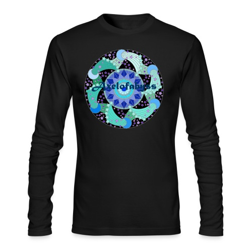 Axelofabyss The Ocean Moon - Men's Long Sleeve T-Shirt by Next Level