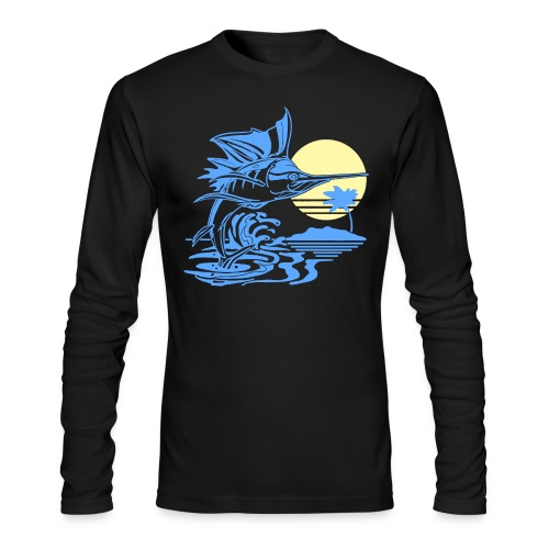 Sailfish - Men's Long Sleeve T-Shirt by Next Level