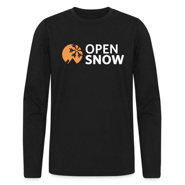OpenSnow Logo Horizontal White