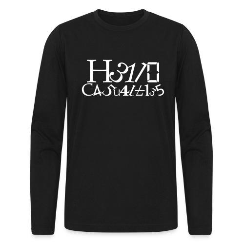 Hello Casualties Leet - Men's Long Sleeve T-Shirt by Next Level