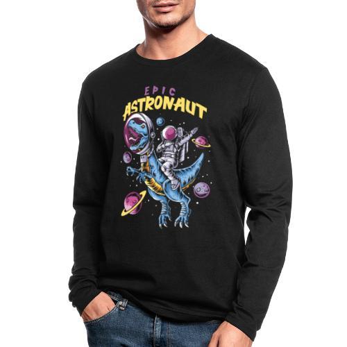 epic astronaut space - Men's Long Sleeve T-Shirt by Next Level