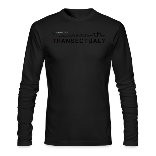 TransectLogo - Men's Long Sleeve T-Shirt by Next Level