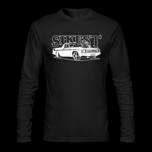 SIKEST - HJ UTE BLOWN BIG BLOCK DESIGN - Men's Long Sleeve T-Shirt by Next Level