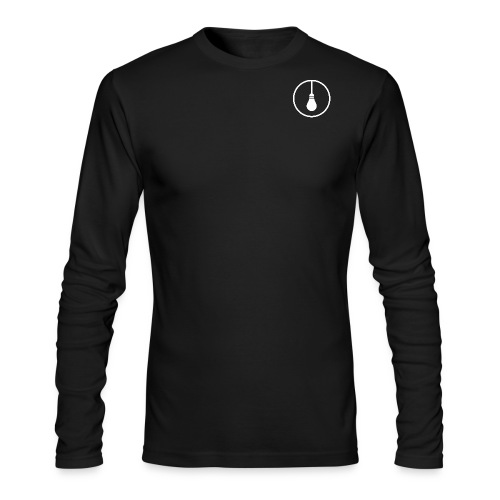 Logo (Black) - Men's Long Sleeve T-Shirt by Next Level