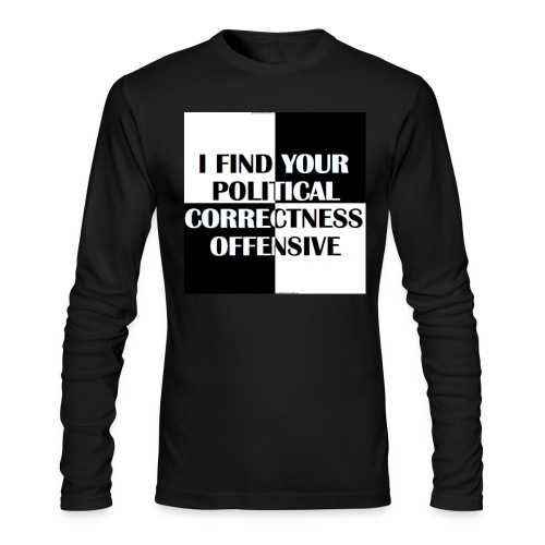 pc offensive - Men's Long Sleeve T-Shirt by Next Level