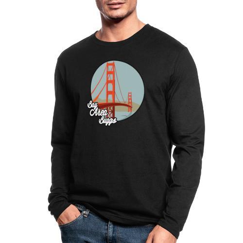 Bay Area Buggs Bridge Design - Men's Long Sleeve T-Shirt by Next Level
