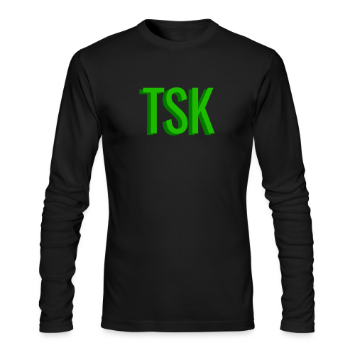 Meget simpel TSK trøje - Men's Long Sleeve T-Shirt by Next Level