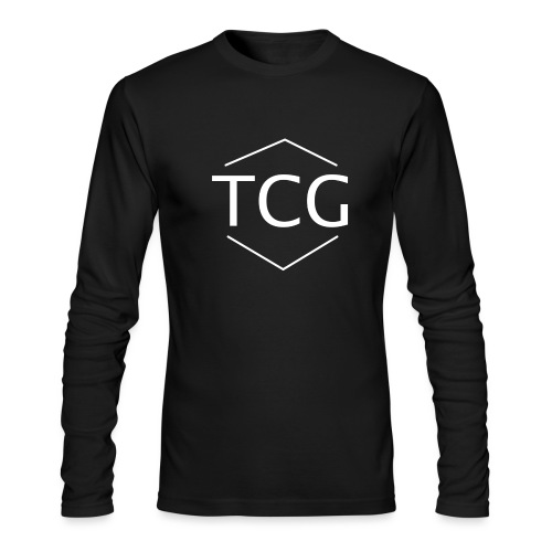 Simple Tcg hoodie - Men's Long Sleeve T-Shirt by Next Level