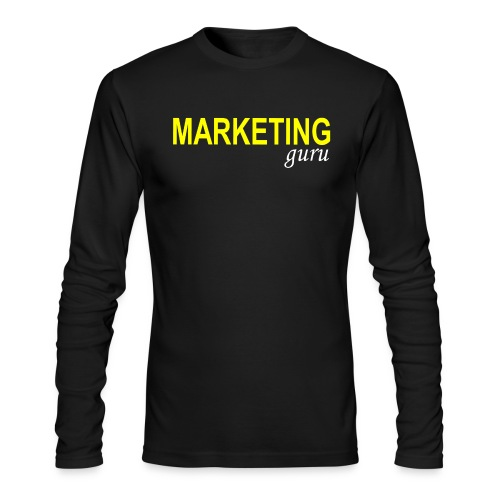 Marketing Guru - Men's Long Sleeve T-Shirt by Next Level