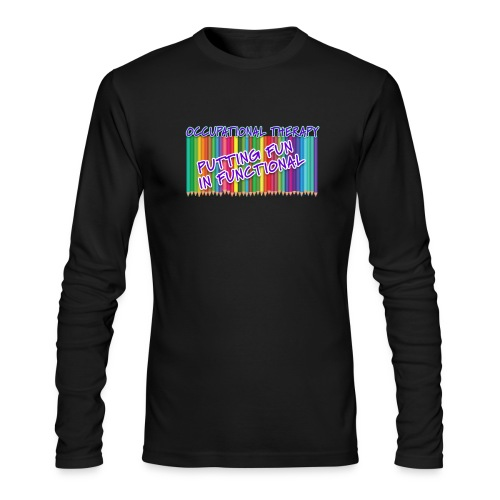 Occupational Therapy Putting the fun in functional - Men's Long Sleeve T-Shirt by Next Level