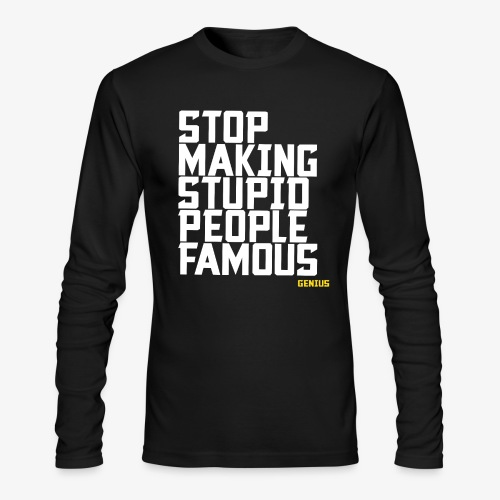 Stop it! - Men's Long Sleeve T-Shirt by Next Level