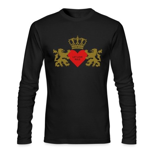 Let love rule - Men's Long Sleeve T-Shirt by Next Level
