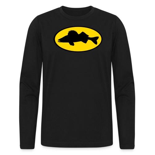 BadPickerel0 png - Men's Long Sleeve T-Shirt by Next Level
