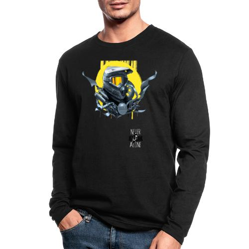 Americana - Men's Long Sleeve T-Shirt by Next Level