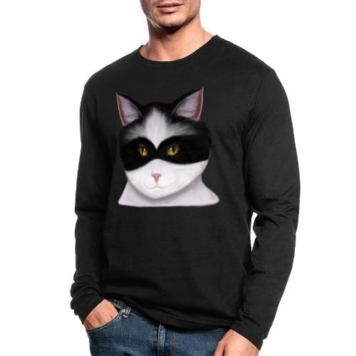 I am called the Masked Cat - Men's Long Sleeve T-Shirt by Next Level