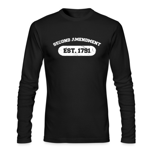 2A white font - Men's Long Sleeve T-Shirt by Next Level