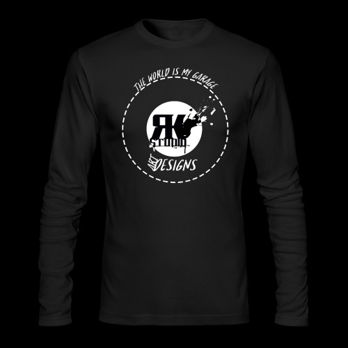 The World is My Garage - Men's Long Sleeve T-Shirt by Next Level
