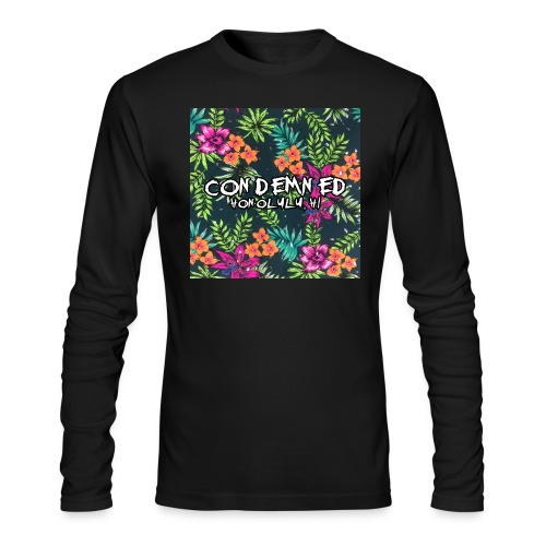 Floral Pattern - Men's Long Sleeve T-Shirt by Next Level