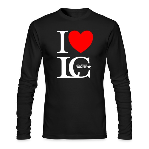 I Heart LCDance - Men's Long Sleeve T-Shirt by Next Level