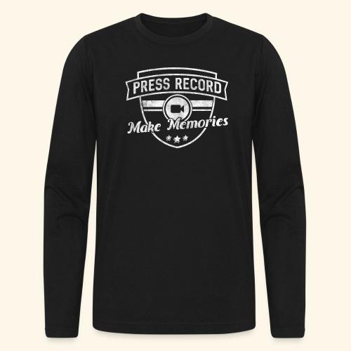 pressrecord_makememories2 - Men's Long Sleeve T-Shirt by Next Level