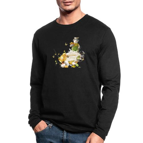 easter bunny easter egg holiday - Men's Long Sleeve T-Shirt by Next Level