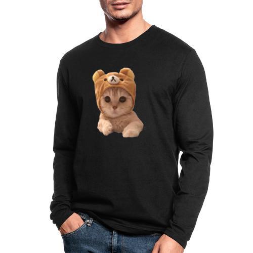 uwu catwifhat - Men's Long Sleeve T-Shirt by Next Level