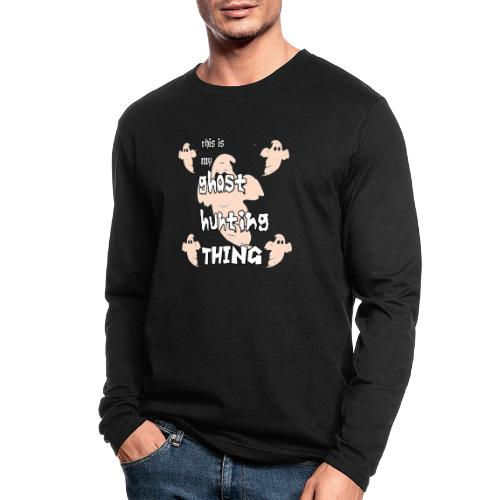 ghost hunting thing - Men's Long Sleeve T-Shirt by Next Level